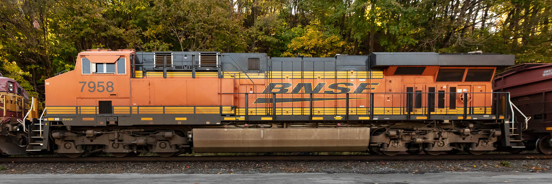 BNSF Locomotive 7958